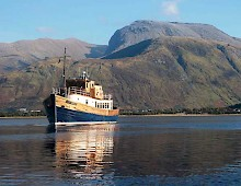 Loch Linnhe with Ben Nevis in the background