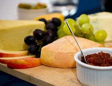 The cheeseboard is always popular