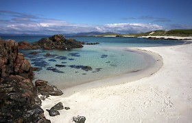 beach on Iona