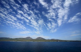 Jura sky on Scotland cruise