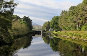 David Mason, third place, Caledonian Canal