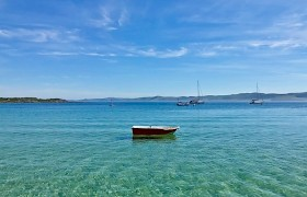 Crystal clear waters at Gigha by Marina Murray