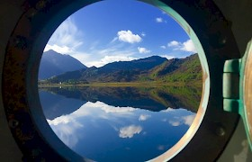 View from the Porthole by Robert Christie