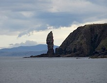 Old Man of Stoer from the sea.